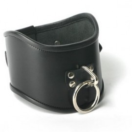 Leather Locking Posture Collar