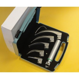 Fiber Optic Laryngoscope Handles