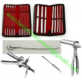 Uterine Hegar Dilator Set