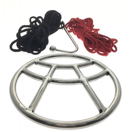 Shibari Ring Set - Edo - Suspension Ring Set By Oxy - Ring, Ropes, Hook