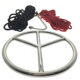 Shibari Ring Set - Kojī - Suspension Ring Set By Oxy - Ring, Ropes, Hook