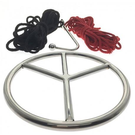 Shibari Ring Set - Kojī - Suspension Ring Set By Oxy - Ring, Ropes, Hook